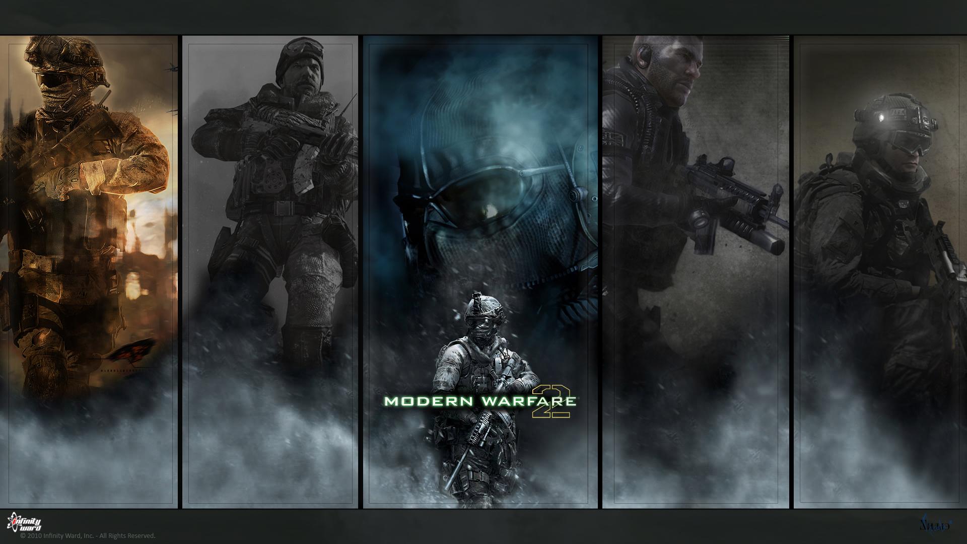 Call of Duty Modern Warfare  № 3671578 загрузить